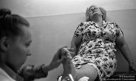 Педикюрный кабинет. Новокузнецк, 1981