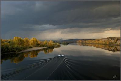Возвращение в грозу и в город. Новокузнецк. 28.09.2010
