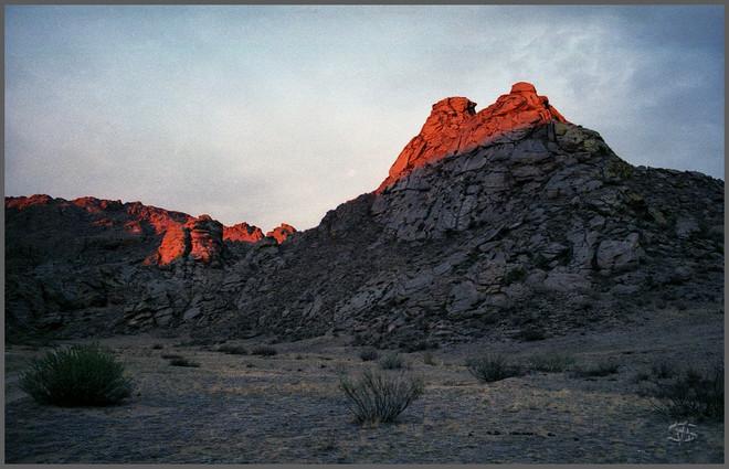 Священная гора Кежиге. Тыва. 6.09.2007