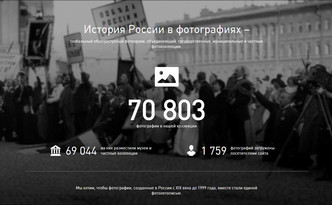 ПРОЕКТ «ИСТОРИЯ РОССИИ В ФОТОГРАФИЯХ»