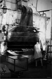 Выпечка баранок. Второй хлебозавод.Новокузнецк. 5.05.1981