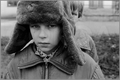 Дима - портрет в шапке. 19.04.1987