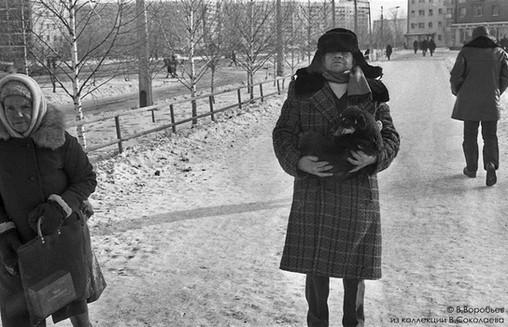 По дороге к ветеринару. Новокузнецк. 1983