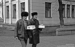 Поход джентльменов в гости.  Новокузнецк,  1980