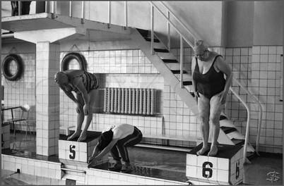 Группа здоровья в бассейне «Родник». Новокузнецк. 5.04.1983