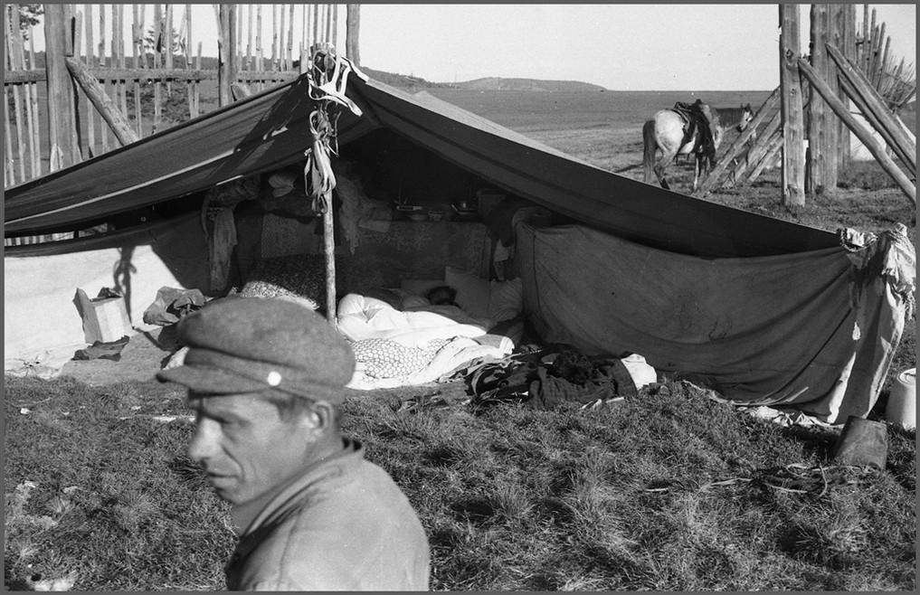 Рассветное солнце в цыганской палатке