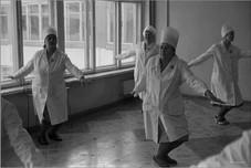 Соревнования горпромторга по производственной гимнастике. Новокузнецк. 10.04.1983