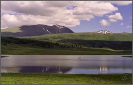 Озеро Узункёль. Горный Алтай. 8.07.2001