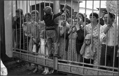 Родительский день в пионерлагере. Зенково. Прокопьевский район. 14.07.1985