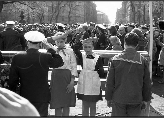 Гимн Советского Союза на сборе ветеранов Балтфлота