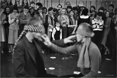 Парадоксы взрослой жизни. Новогодний бал в музыкальном училище. Новокузнецк. 4.10.1986