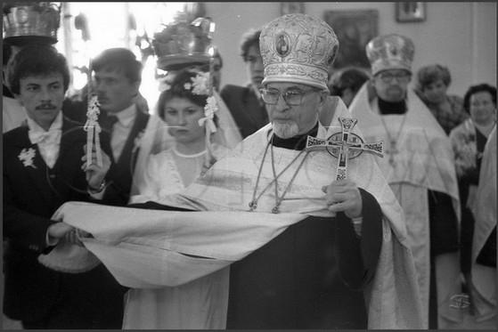 Венчание. Обвод вокруг аналоя. 5.06.1985.