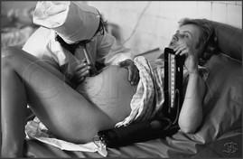 Прослушивание плода. Клинический роддом №1. 29.06.1981