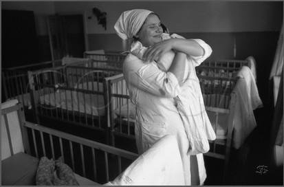 Обитательница Маша и нянечка Мария. 28.10.1987