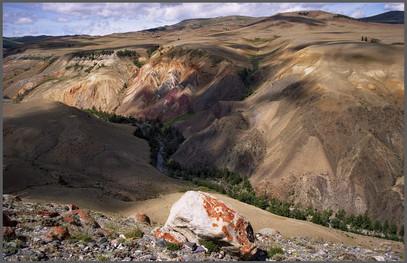 Каньон реки Кызылчин