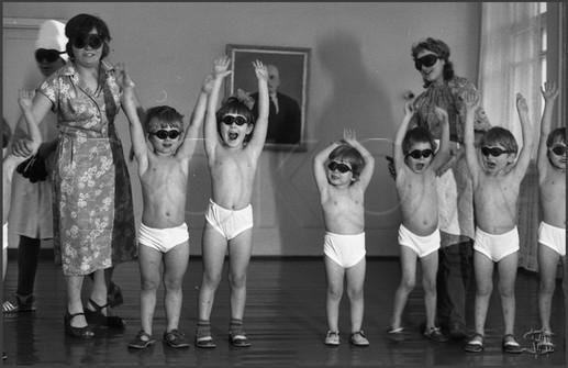 Кварцевание. Детский дом № 4. Новокузнецк. 22.01.1981