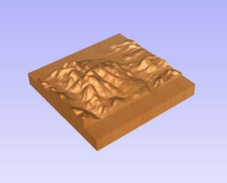 Comment créer un modèle 3D d'une carte topographique ?