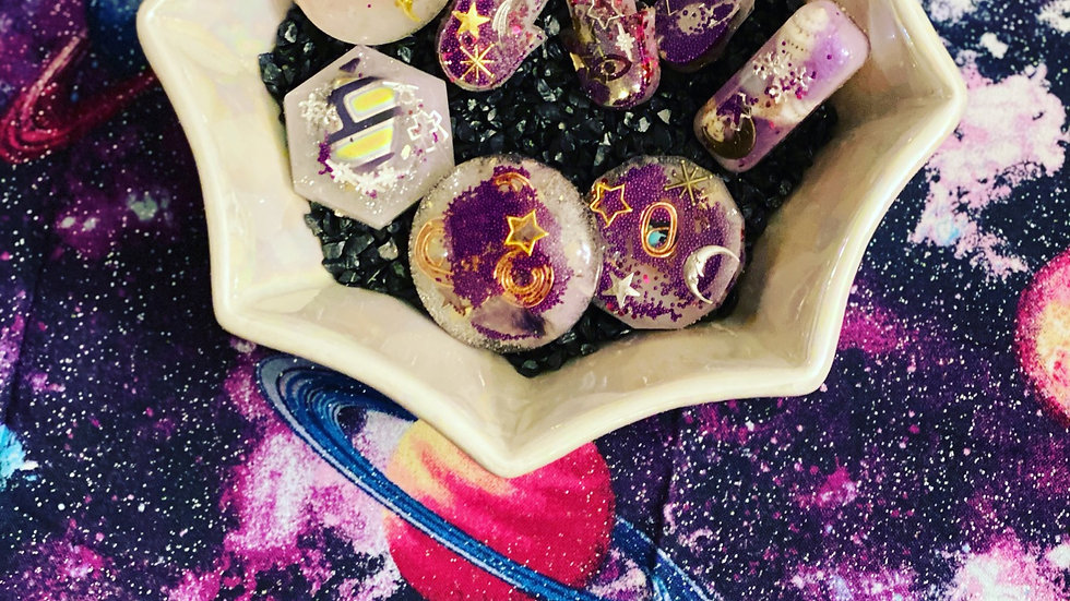 The cosmic collection of pendants