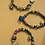 Thumbnail: Rare- super rare bracelet gemneyemz brand look with druzy blue rainbow coppers a