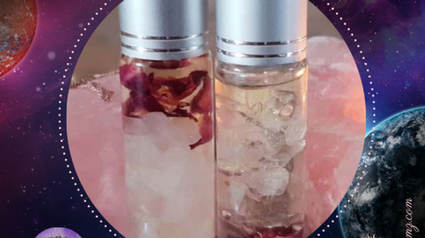 Gemstone Roller Bottle Blends to balancethe 7 chakeras