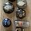 Thumbnail: Copper Shungite Orgonite Pocket Amulets plus Ogonite Coasters to charge wat