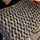 Thumbnail: Chunky Blanket- Chenille black /white