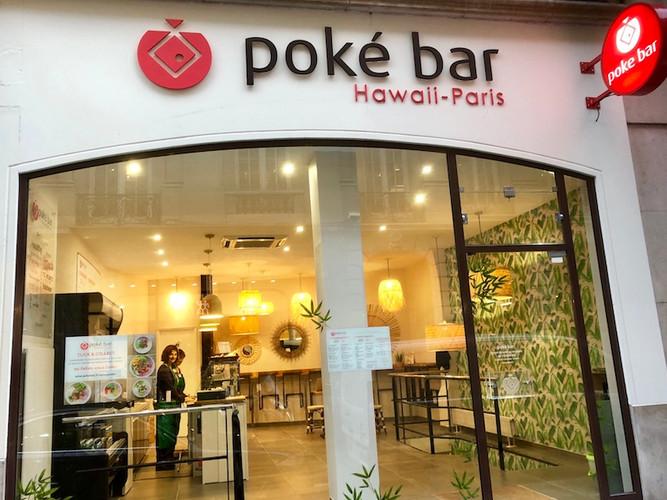 Poke bar 3 rue Vignon paris 75008 - web