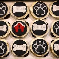 Dog Themed Cupcakes