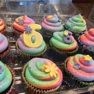 Trolls inspired cupcakes