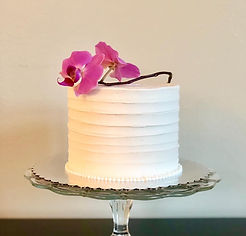 Simply Frosted Cake