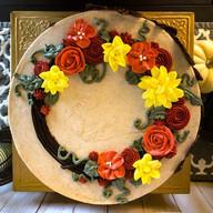 Buttercream Wreath