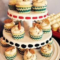 Gourmet Cookie Dough Cupcakes
