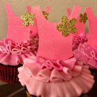 Ballerina Cupcakes