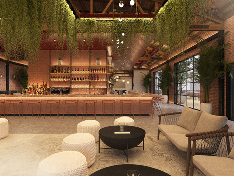 726 MATEO | Arts District Restaurant Space with Landscaped Patio