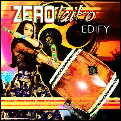 "ZEROtaiko CD ""EDIFY"""