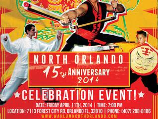 Wah Lum North Orlando 15th Anniversary
