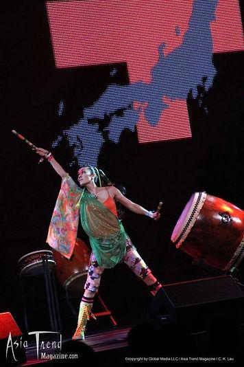 Atsumi Japanese Taiko Female Drummer