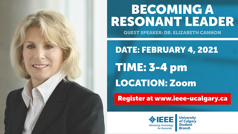 Becoming a Resonant Leader: Dr. Elizabeth Cannon