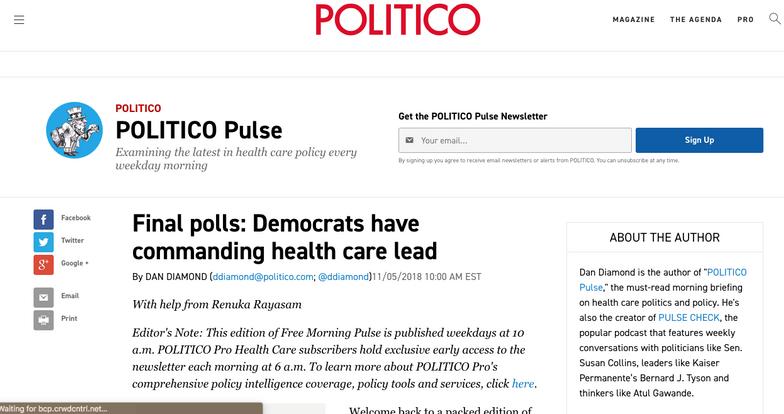 Politico Pulse