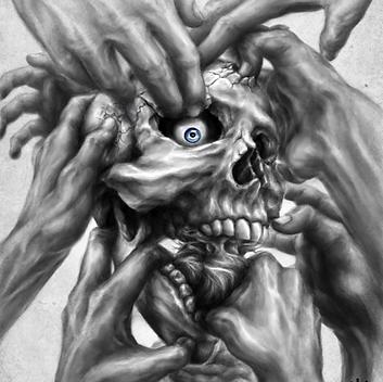 Anxiety - Surrealism Digital Drawing