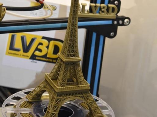 Test du filament LV3D LUXE Bronze or  par les clients !