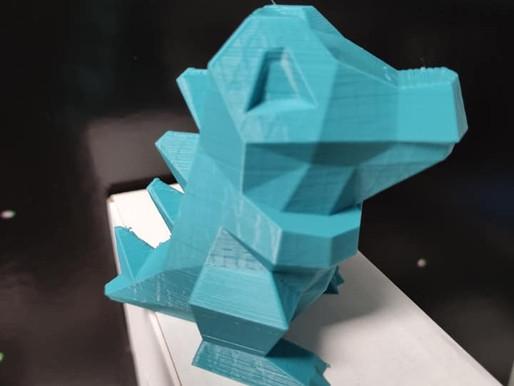 Une grosse bobine de filament LV3D luxe fabrique des Pokémons !