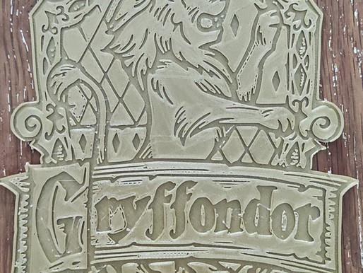Le blason de GRYFFONDOR EN 3D ! (imprimante 3d )