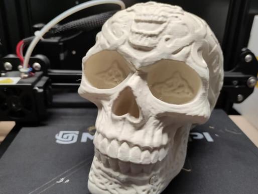Un Crâne celtique imprimé en 3D !
