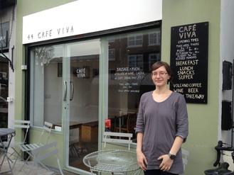 How did Cafe Viva raise £607.81?