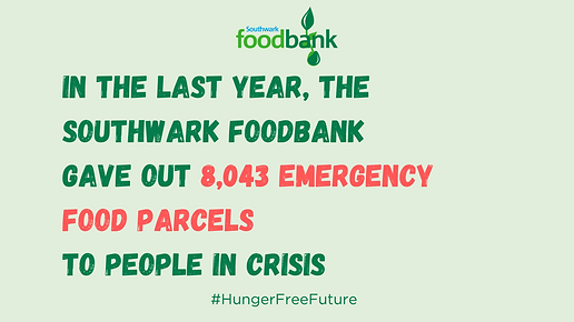 Southwark Foodbank End of Year Parcel St