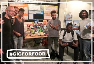 Gig for the Foodbank