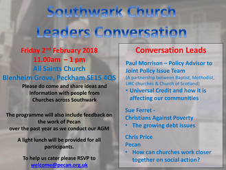 Southwark Church Leaders Conversation