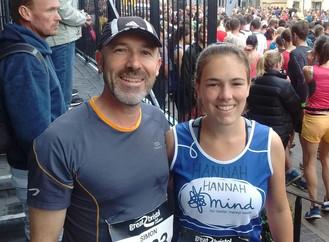 Simon's marathon start to Foodbank