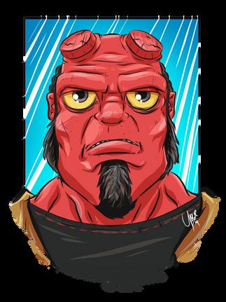 Hellboy .png